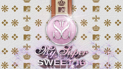 my super sweet 16 logo